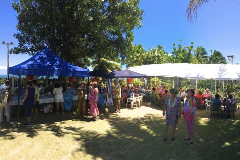 Une centaine de personnes au déjeuner annuel de Te Vahine Porinetia