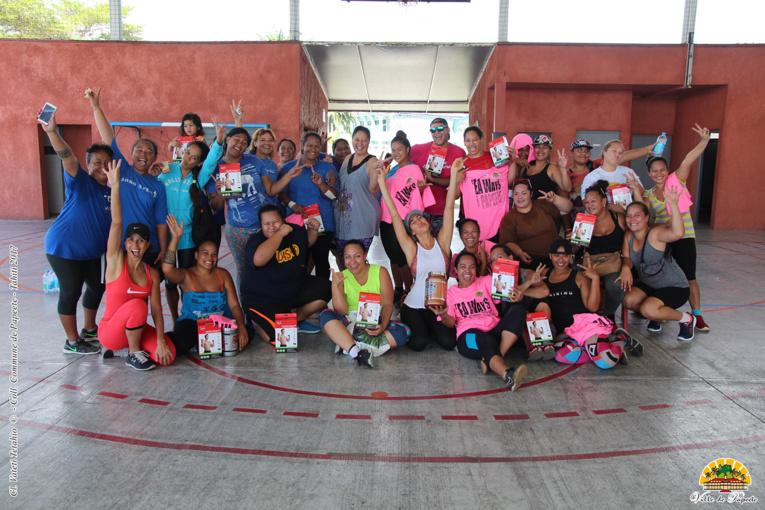 Cross training, zumba, va'a, ou encore marche nordique les habitants des quartiers de Papeete ont accès gratuitement à un large panel d'activité.