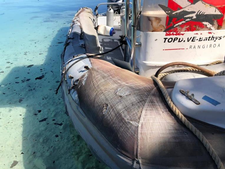 Fakarava: un bateau de plongée explose