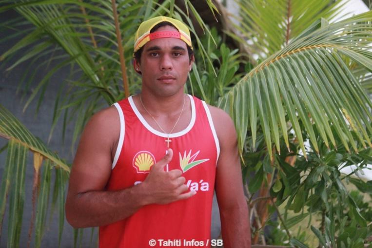 Taaroa Dubois a intégré Shell Va'a en début d'année