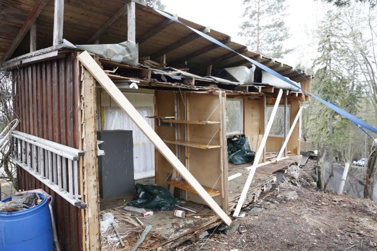 Norvège: quatre mois de cabane pour un cabanon