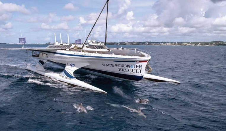 Le trimaran Race for Water attendu ce week-end à Tahiti