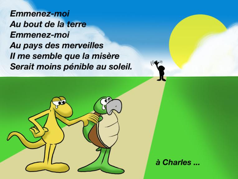 """"""" Hommage à Charles Aznavour """" par Munoz"""