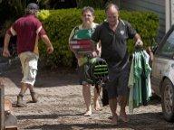 Brisbane se prépare dans l'angoisse à une nouvelle montée des eaux