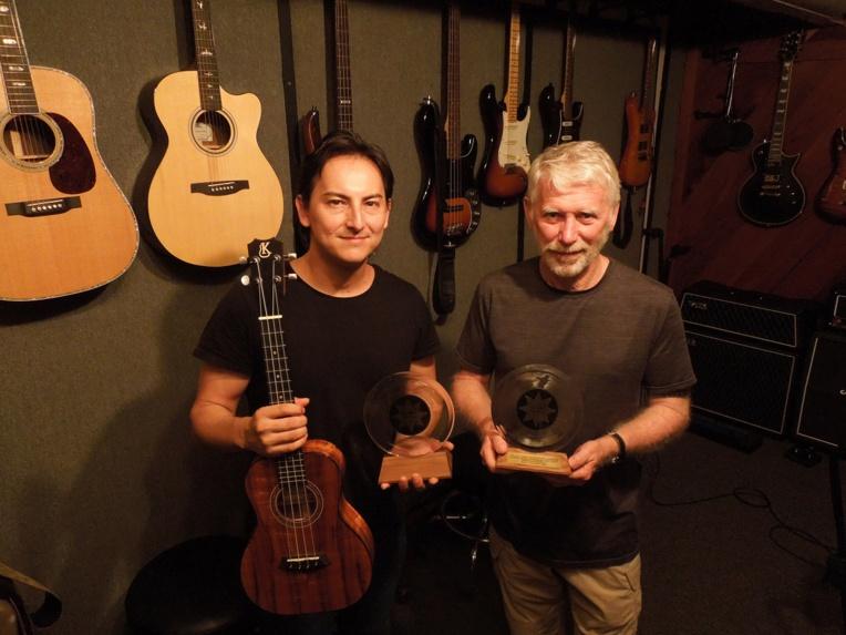 Florent Atem et Bob St John des studios hawaiiens Neos Productions