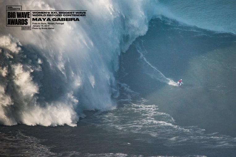 La vague a été mesurée à 20,72 mètres