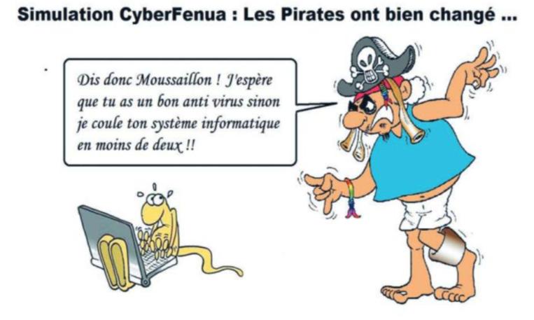 """"""" Cyberfenua """" vu par Munoz"""