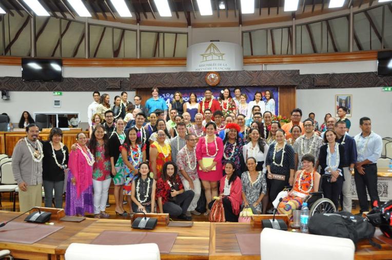 Tous les acteurs qui ont contribué à la réussite de ce premier événement. Crédit photo : CESC