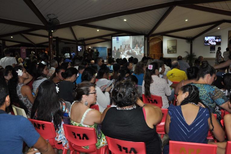 Plus de 800 personnes ont fait le déplacement pour assister à l'événement.
