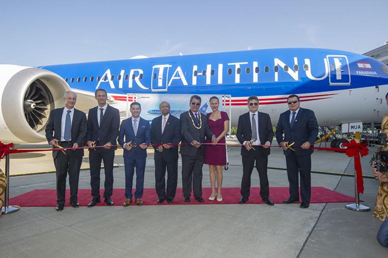 ATN: Le pays prend livraison du premier Tahitian Dreamliner