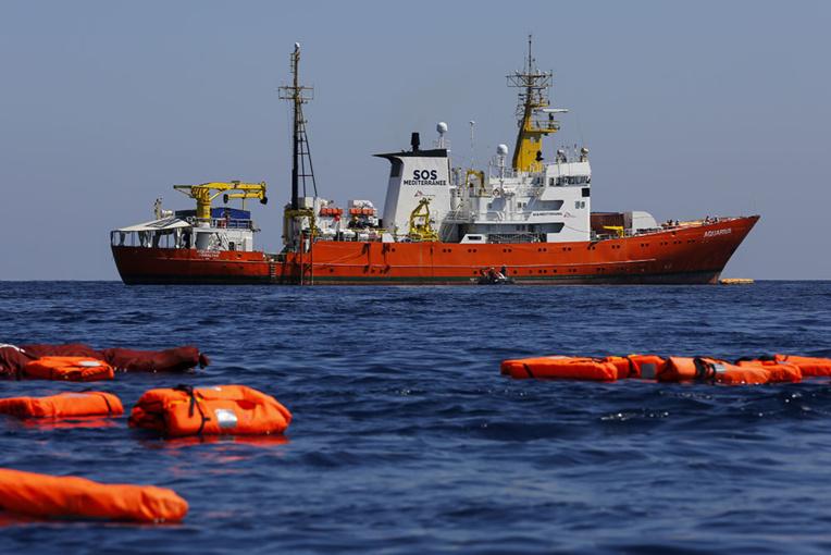 Aquarius: des militants identitaires envahissent le siège de SOS Méditerranée