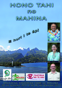"Profession de foi du Hono Tahi No Mahina, ""Ensemble pour Mahina"""