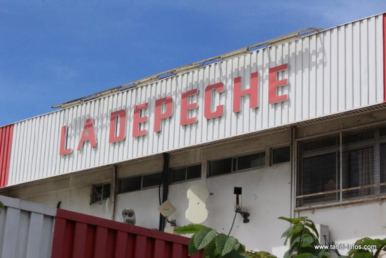 La Dépêche de Tahiti a trois mois et demi pour présenter au tribunal de commerce un plan de sauvegarde de son activité et d'apurement d'un passif de plusieurs centaines de millions de francs.
