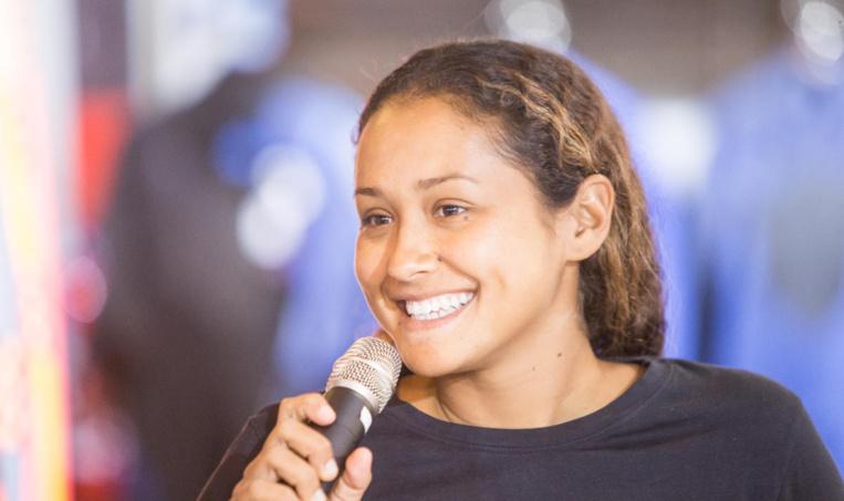 Vahine Fierro a tout pour réussir à intégrer le world championship tour