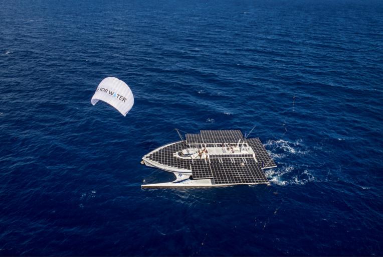 Le catamaran Race for Water est en Polynésie pour un mois.