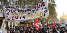 Manifestation à Paris pour dénoncer la politique de Macron