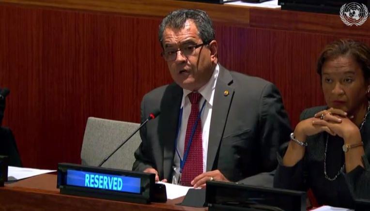 ONU : l'intervention d'Edouard Fritch devant la 4e commission