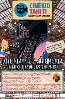 """Page enfant : Un """"Cine kid"""" en présence de Miss Tahiti ce samedi au liberty"""