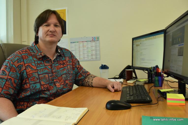 Raimana Lallemant, enseignant-chercheur associé au centre de droit international de l'université Lyon III.