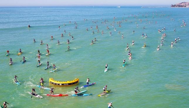 Les Pacific Paddle games ont clôturé la saison de SUP race