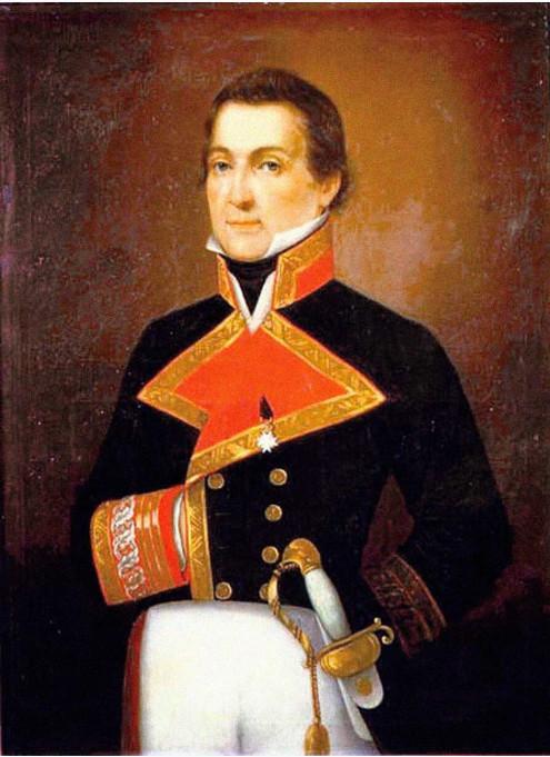 Alejandro Malaspina au temps de sa gloire ; il venait d'effectuer un tour du monde et repartait pour une expédition exceptionnelle de découvertes, digne de Cook ou de La Pérouse.