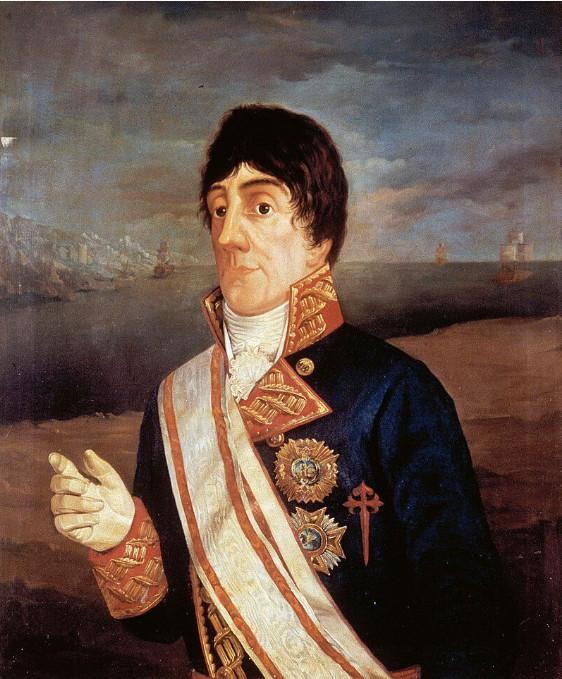José Joaquin de Bustamante y Guerra fut le second capitaine de l'expédition Malaspina qui se solda par une réussite exemplaire pour l'époque.