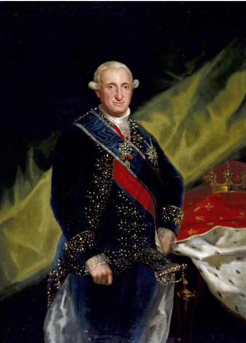 Le roi Carlos IV n'avait pas commandité l'expédition Malaspina, de sorte qu'il ne fit rien pour venir en aide au navigateur accusé de tous les maux par Manuel Godoy, son secrétaire d'Etat enragé.