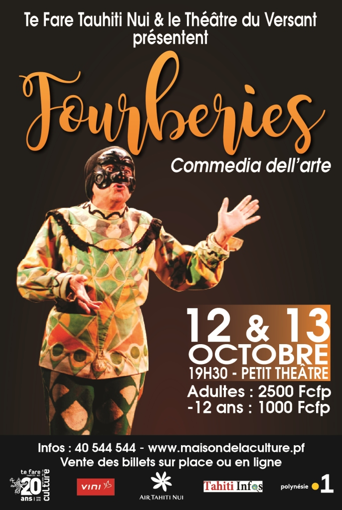 Fourberies de la Commedia dell'arte: la soirée de samedi annulée