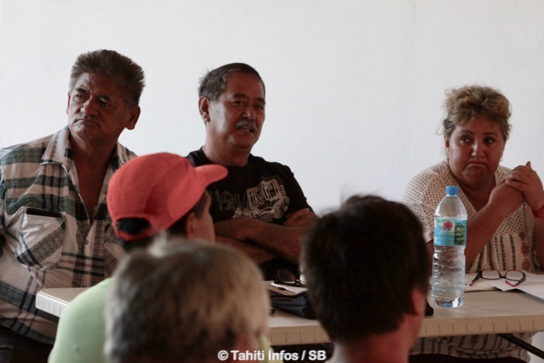 Alfred Mata, Rodolphe Apuarii et Elise Maamaatuaiahutapu