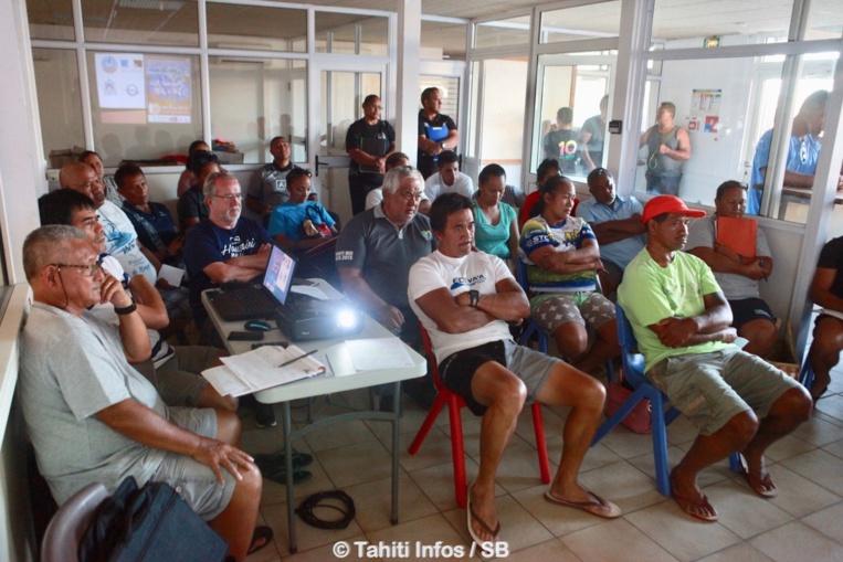 Les présidents des clubs participants ont répondu à l'appel du comité
