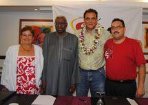 Signature de la convention de partenariat pour le développement de l'athlétisme en milieu scolaire
