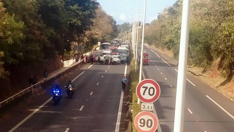 Un accident occasionne de gros embouteillages