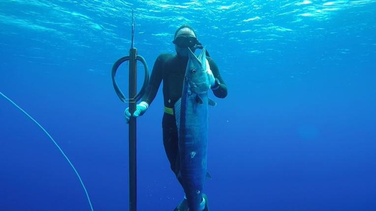 Une pêche effectuée en plein océan