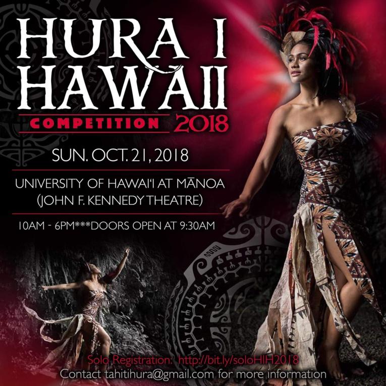 Le 'ori tahiti à l'honneur pendant une semaine à Hawaii