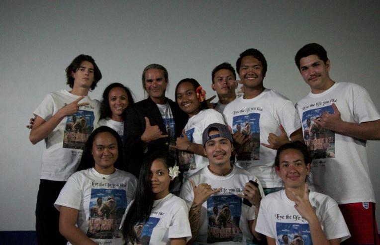 Le film Te Vaanui o te Toa Kaipeka présenté en avant-première