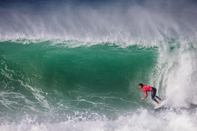 Un parcours sans faute pour l'instant au Portugal pour Michel Bourez