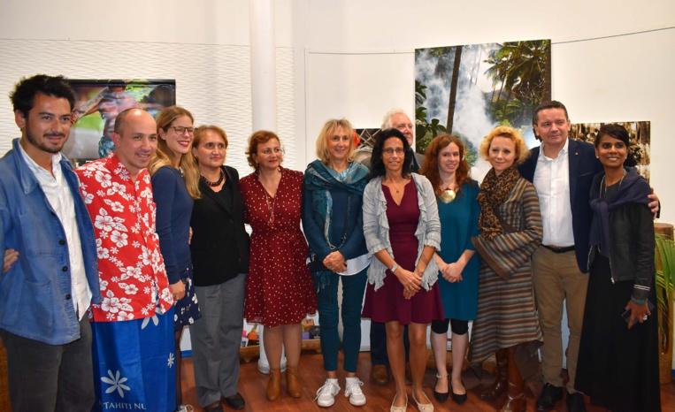 Dinah Desjardins lauréate du concours littéraire de la Délégation à Paris