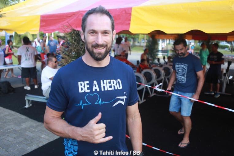 Cyril Gaudemer, champion de judo, s'est intéressé à l'aviron indoor
