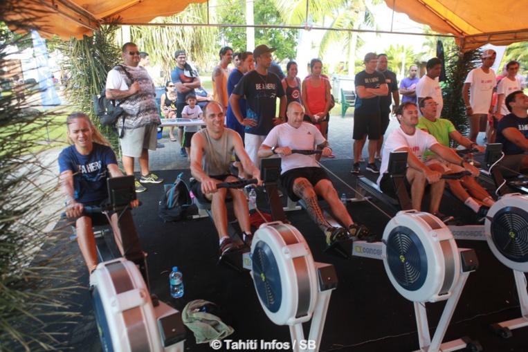 L'aviron indoor se développe en Polynésie depuis quatre ans
