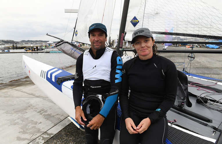 Voile/Sail GP: Marie Riou et Billy Besson à la tête des Bleus pour un circuit F1 des mers