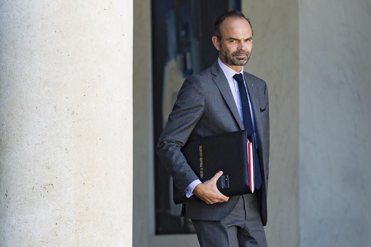 Edouard Philippe en Nouvelle-Calédonie le 5 novembre au lendemain du référendum