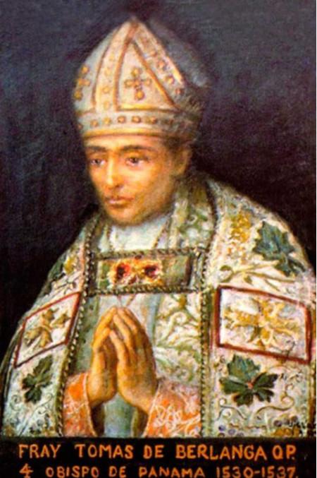 L'un des rares portraits de l'évêque de Panama, découvreur, bien malgré lui, des îles Galapagos dont il brossa un sombre portrait.