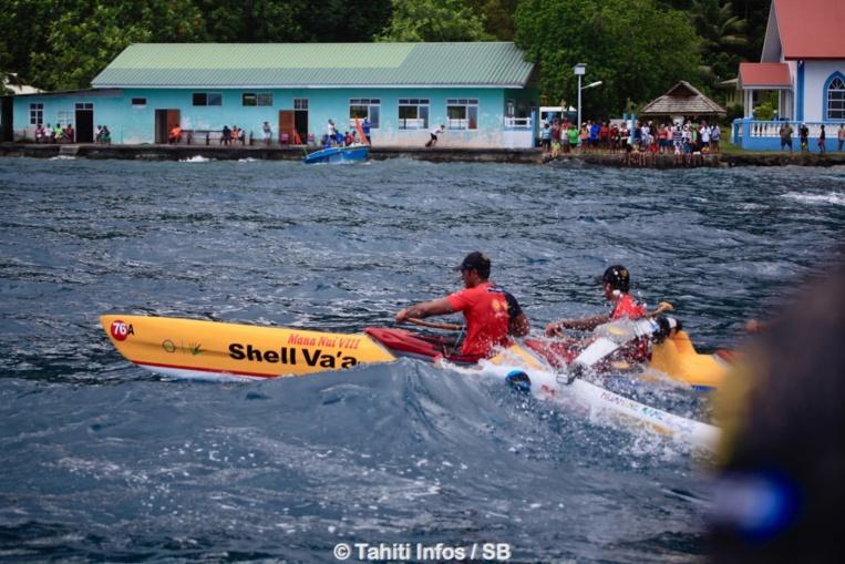 Shell Va'a a les cartes en main pour rivaliser avec Edt Va'a