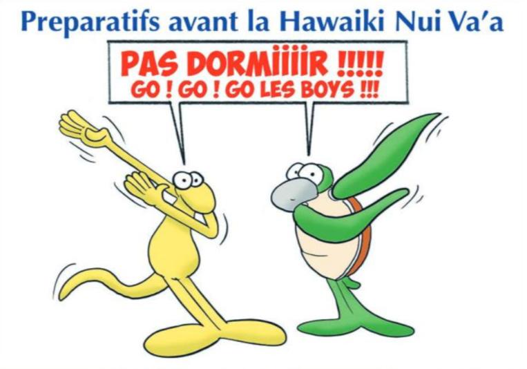""""""" Hawaiki Nui Va'a : Les préparatifs avant le top départ ! """" par Munoz"""
