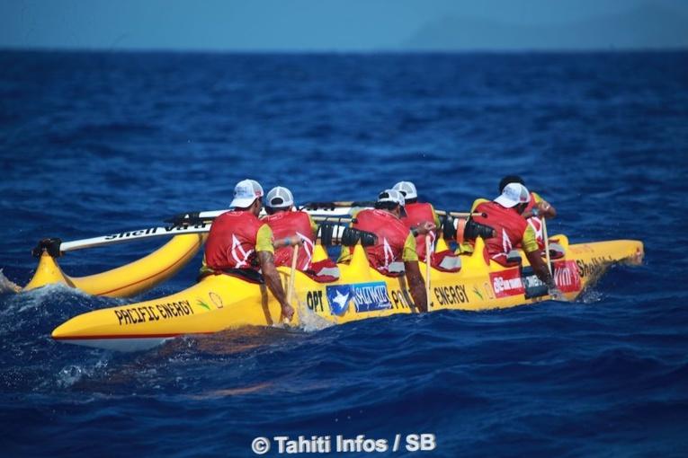 Shell Va'a a remporté deux étapes sur trois