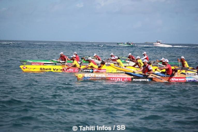 Va'a V6 – Hawaiki Nui Va'a 2018 #3: Une septième victoire pour Shell Va'a