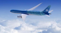 Bienvenue à bord du à bord du Boeing F-OMUA Fakarava pour son premier vol inaugural.