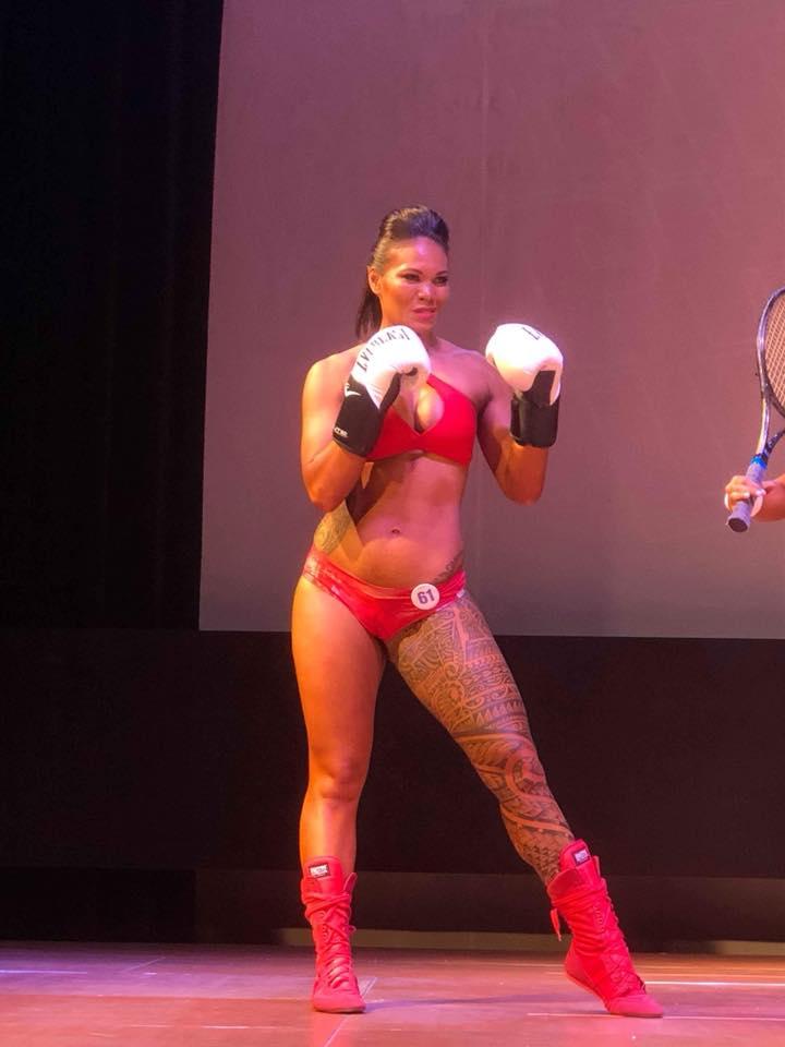 Edith Tavanae avait préparé son come back depuis des mois en se mettant également au fitness