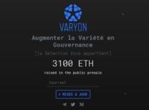 La création de la crypto-monnaie Varyon devait apporter entre 3 et 15 millions de dollars au projet d'île flottante. Mais la levée de fonds n'a pas réussi à mobiliser les investisseurs et s'est terminée sur un échec. Tous ceux qui avaient soutenu l'initiative ont été remboursés.