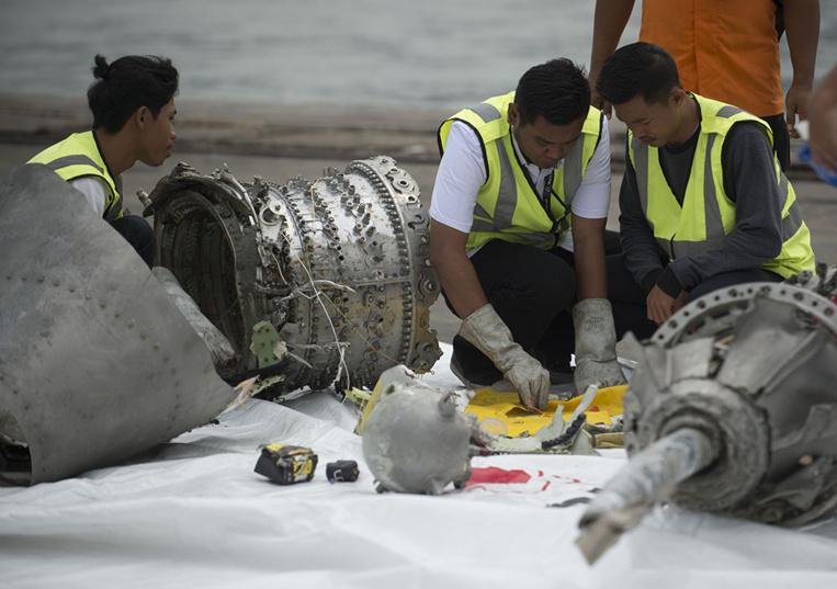 Boeing reconnaît qu'un capteur pourrait être en cause dans le crash en Indonésie